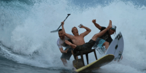 Chair Surfing: It's like surfing for people too lazy to stand up