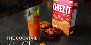 Cheez-It cocktail wins my heart and stomach