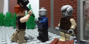 This 'Walking Dead' trailer made with LEGO is astounding in its detail