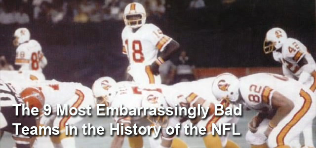 worst nfl teams ever