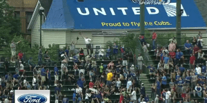 Older Bro Makes Fantastic, Death-Defying Catch at Wrigley Field