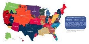 This Facebook Map Shows Which NFL Team Rules In Your Area