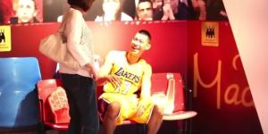 Jeremy Lin Scared A Bunch Of People Who Were Looking At His Wax Statue