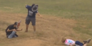 EDM Bro Having A Bad Trip At TomorrowWorld Thinks He's A Ninja