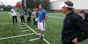 Ben Affleck Lifted Weights With Michigan State's Football Team