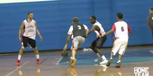 Jason 'White Chocolate' Williams Put On A Flashy Show While Dominating A Pro-Am Game