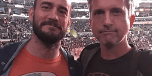 Bill Simmons And CM Punk Hung Out At An LA Kings Game And It's Pretty Damn Cool
