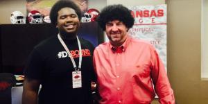 Bret Bielema Wore A Fro In Desperate Attempt To Land Recruit