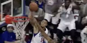 76ers' K.J. McDaniels Welcomed Himself To The NBA By Throwing Down A Sick Alley-Oop