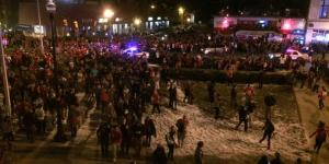 Here Are Pics From The Riots In Columbus After Ohio State Won The National Championship
