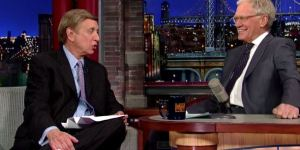 Marv Albert Shared His Best-Ever Blooper Reel With David Letterman