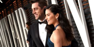 Aaron Rodgers Simply CANNOT Keep His Hands Off Of Olivia Munn's Ass
