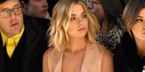 'Pretty Little Liars' Star Ashley Benson Showed Off MAXIMUM Cleavage At New York Fashion Week