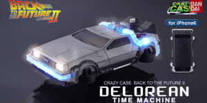 Get Me This 'Back To The Future II' Dolorean-Shaped iPhone 6 Case And Get Me It Now Goddammit!