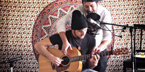 Two Bros, One Guitar: These Two Dudes Made An Awesome Song While Doing Shots And Smoking A Joint