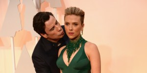 John Travolta's Creepy Oscars Kiss Has Spawned The Greatest Meme Of 2015