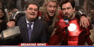 Chris Hemsworth Spoils The Ending To 'Avengers: Age Of Ultron' On 'Saturday Night Live'