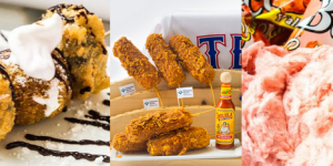 Fried S'mOreos, Bacon Cotton Candy, Bacon Beer, Deep-Fried Corn On The Cob. 4 Yummy Reasons To Go To A Rangers Game