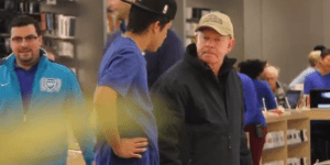 PRANKS: Guys Pretend To Work At Apple Store And Tell Customers To Buy Microsoft