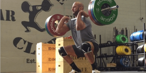 Watch WWE Superstar Cesaro Clean And Jerk Almost 300 Pounds Like There's No Weight Involved