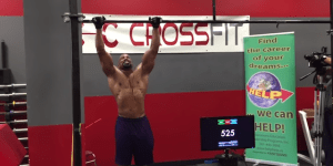 Watch A 54-Year-Old Bro CRUSH The World Record For Pull-Ups
