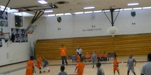You Won't Believe This Backwards, No-Look, Bank Shot From Three At The Buzzer… By A Third Grader