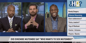 Alonzo Mourning Confirms The 'Who Wants To Sex Mutombo?' Story Is True