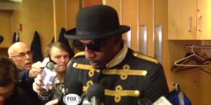 What The Hell is Amar'e Stoudemire Wearing?