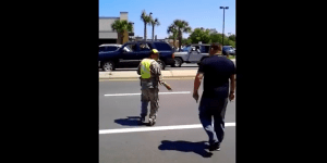 Army Vet Confronts A Scamming Panhandler In Uniform—Orders Him To Strip It Off In Traffic