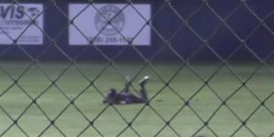 High School Baseball Team Pulls Off Improbable Double Play After Ball Rockets 60 Feet Off Centerfielder's Head