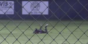 High School Baseball Team Pulls Off Improbable Double Play After Ball Rockets 60 Feet Off Centerfielder's Head
