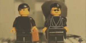 Shot-For-Shot Lego Remake Of 'The Matrix' Lobby Shootout Scene Is Magnificent