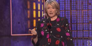 Watch Martha Stewart Kill It At Comedy Central's Roast Of Justin Bieber