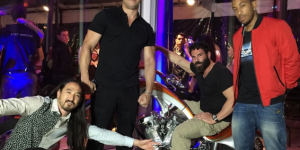 Dan Bilzerian Threw Epic Party For Charity With Vin Diesel, Ludacris, Steve Aoki, Sexy Schoolgirls And A Giraffe