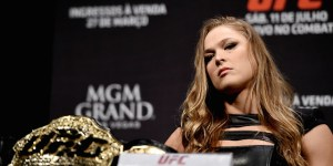 Ronda Rousey Is One Of The Best Trash-Talkers On Earth And Her Latest Rant Has Us Ducking Under A Desk In Fear
