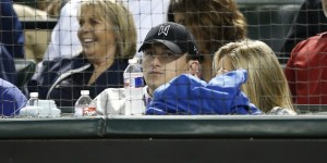 Freshly Rehabbed Johnny Manziel Went To The Texas Rangers Game With Colleen Crowley, Had Great Seats