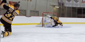 Bruins Patrice Bergeron And Tuukka Rask Go One-On-One With GoPros And It's Awesome