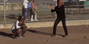 America's Greatest Reporter Travels To San Quentin Prison To Play Baseball With Murderers…Using Aluminum Bats