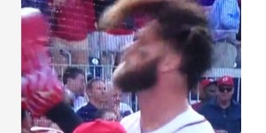 Bryce Harper's Hair Game Is So Damn Strong This Season