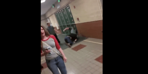 High School Hallway Brouhaha Ends With Devastating Suplex Onto Unforgiving Tile