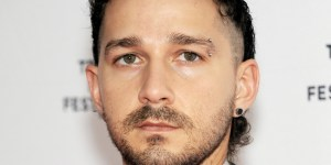 Why Does Shia LaBeouf Look Like He Has A Dead Animal On His Head?