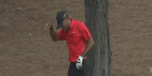 The Internet Calls BS On Tiger Woods For Saying He Popped A Bone In His Hand Back In Place At The Masters
