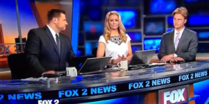 Hot News Anchor Is Hoping For A 'Dry Hump Day'
