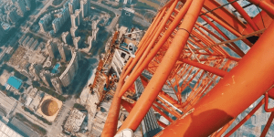 Crazy Daredevils Break Into The World's Second Tallest Building And Take The Most INSANE Selfie From 2165-Feet In The Air