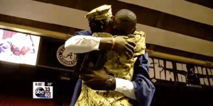 Navy Mom Makes Tearful Return As She Surprises Her Son At His Graduation