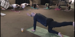 'Beer Yoga' Is A Thing That Now Exists, And It's Just Unseated Rollerblading As The Lamest Form Of Exercise