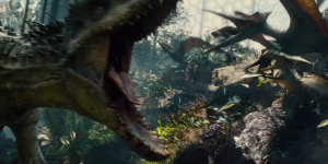 This New And Extended 'Jurassic World' TV Spot Is EXPLODING With Dinosaur Action