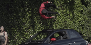 Watching People Do Parkour With Moving Cars Will Get Your Adrenaline Pumping Waiting For Someone To Get Maimed