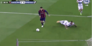 Lionel Messi Destroys Jerome Boateng's Ankles On His Second Goal vs. Bayern Munich