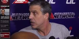 For The Love Of God, Someone Ask Wizards Coach Randy Wittman The NEXT QUESTION